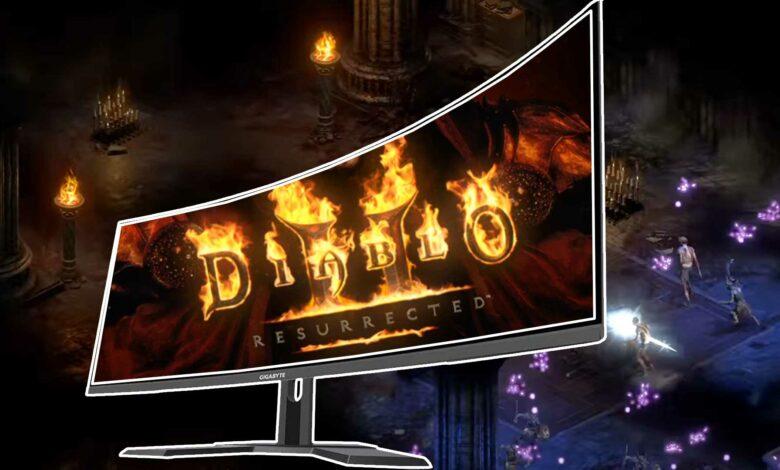 Diablo 2: Resurrected vuelve a patear el soporte ultra amplio porque es totalmente malo para los monstruos
