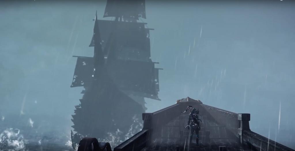 barco fantasma arca perdida