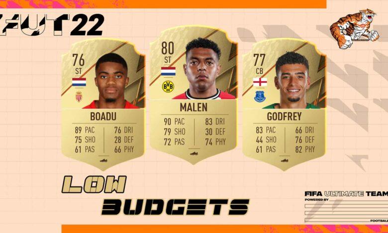 FIFA 22: Equipos competitivos de bajo presupuesto para comenzar la temporada FUT