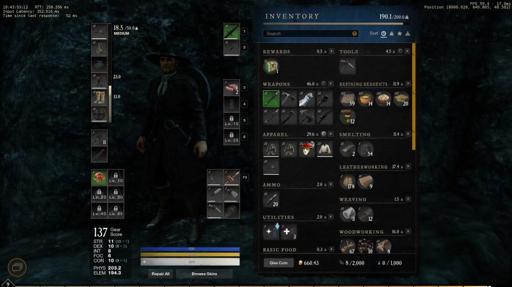 cómo equipar la caña de pescar en el nuevo mundo