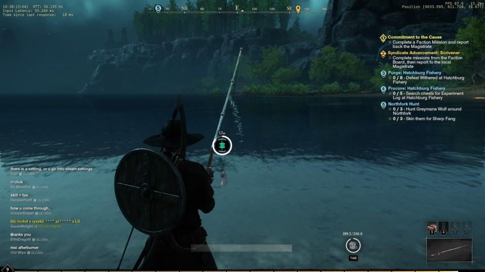 pesca del nuevo mundo, cómo pescar en el nuevo mundo
