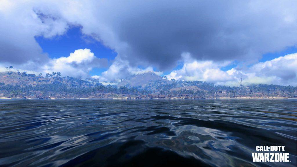 zona de guerra de bacalao costa del pacífico