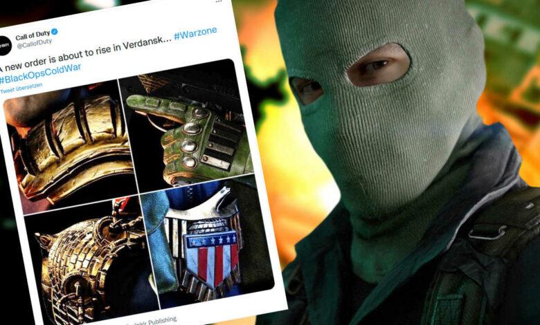 CoD Warzone trae nuevos héroes de acción al juego - Show Judge Dredd