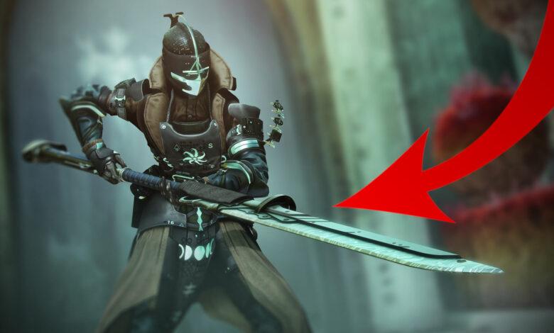 Después de 3 años, Destiny 2 obtiene el primer nuevo tipo de arma: Alles zur Glefe
