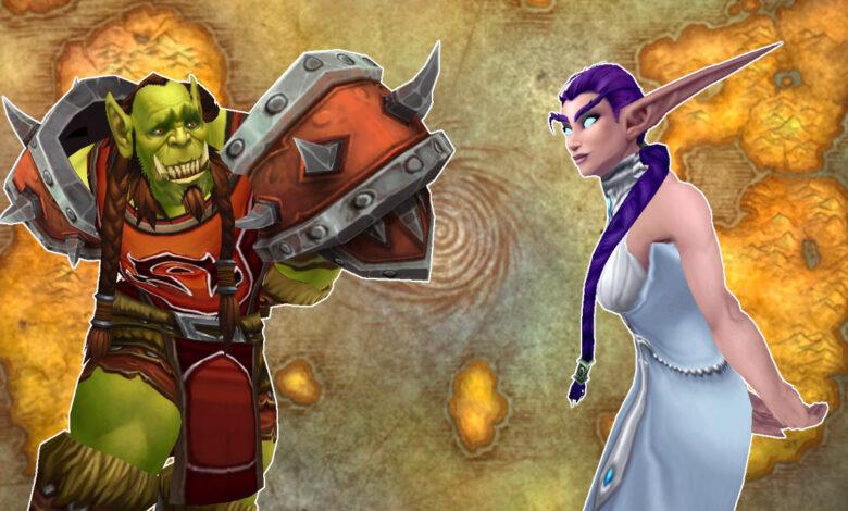 Encuesta de WoW: la Horda y la Alianza juntas, ¿debería Blizzard hacer eso posible?