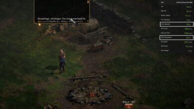 Diablo 2 Resurrected - 99% GPU Usage