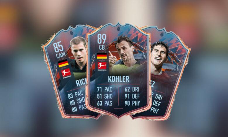 FIFA 22: Calificaciones de los 3 héroes alemanes de FUT conocidos: ¿pueden hacer qué?