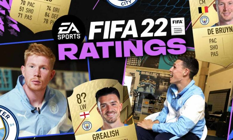 FIFA 22: Clasificación del Manchester City revelada