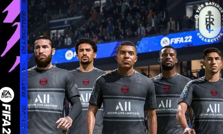 FIFA 22: Clasificaciones del PSG anunciadas