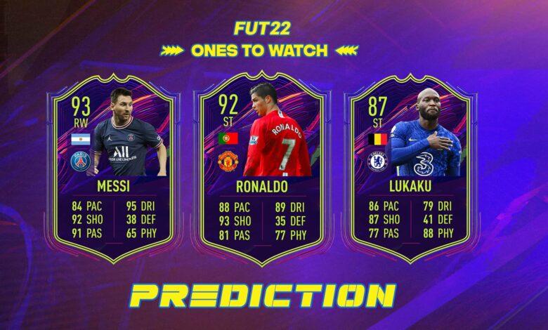 FIFA 22: Predicción OTW - Cartas especiales para ver