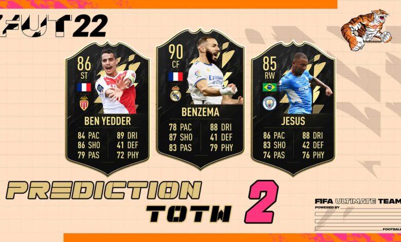 FIFA 22: TOTW 2 - Predicción del nuevo equipo de la semana