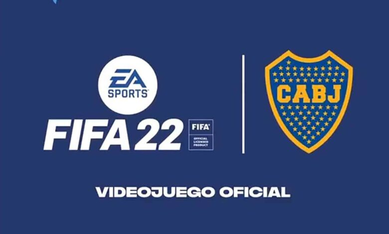 FIFA 22: anunciada la licencia de Boca Juniors