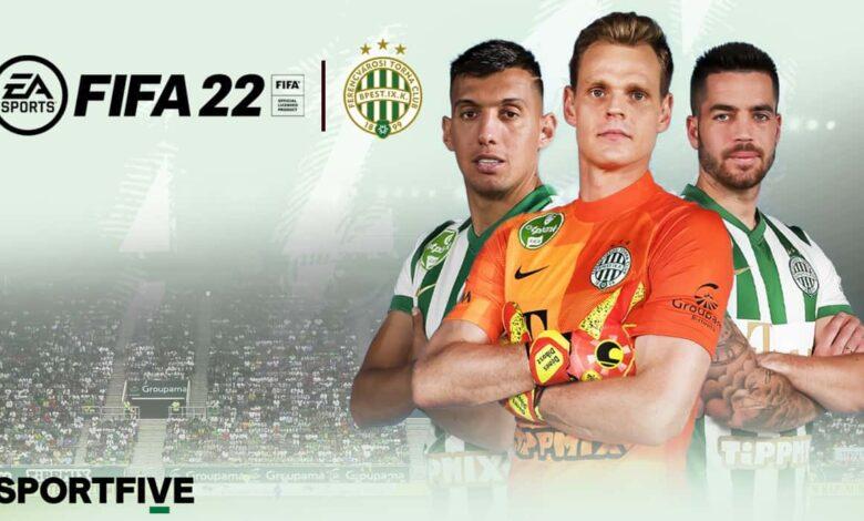 FIFA 22: anunciada la licencia de Ferencvaros