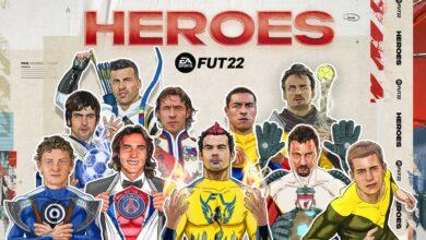 FIFA 22: reveladas las estadísticas generales y oficiales de Heroes