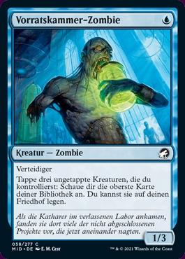 Magic the Gathering despensa zombie