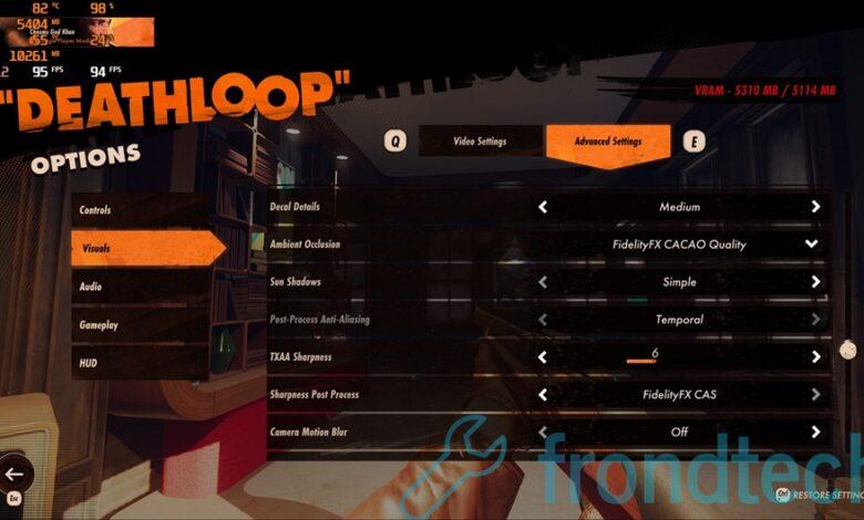 Mejores configuraciones de gráficos de Deathloop