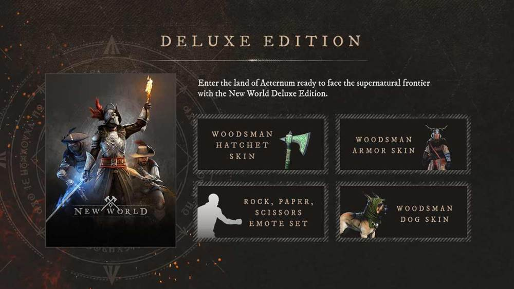 New World Deluxe Edition vs Standard Edition