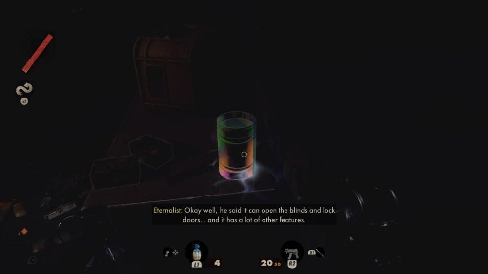 objetos que brillan intensamente del lazo de la muerte