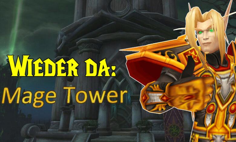 WoW: la amada torre de magos de Legion está regresando