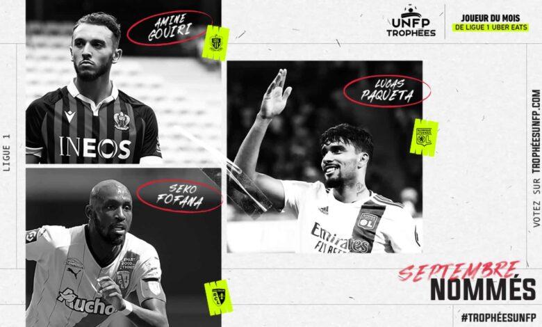 FIFA 22: Nominaciones POTM de septiembre de la Ligue 1