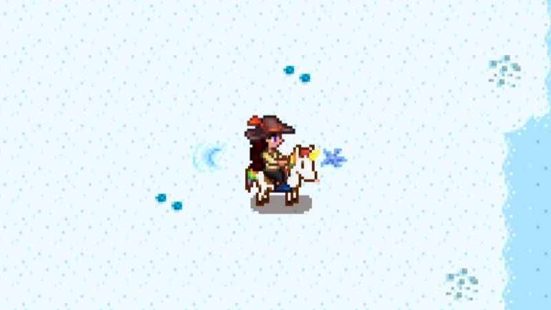 caballo unicornio