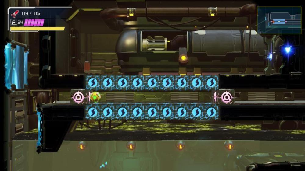 Bloque de ataque de tornillo de Metroid Dread