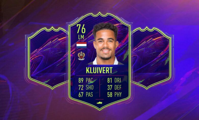 FIFA 22: Objetivos OTW de Justin Kluivert - Estos son los requisitos
