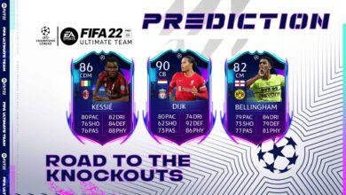 FIFA 22: Predicción RTTK - Le carte dell'evento Road To The Knockouts