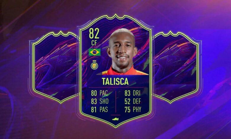 FIFA 22: SBC Anderson Talisca OTW - Estos son los requisitos y las soluciones