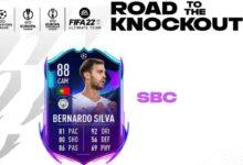 FIFA 22: SBC Bernardo Silva RTTK - Soluciones para canjear la tarjeta Road To The knockouts