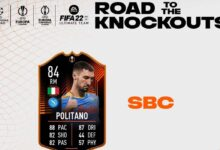 FIFA 22: SBC Matteo Politano RTTK - Soluciones para canjear la tarjeta Road To The knockouts