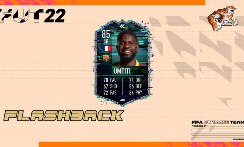 FIFA 22: SBC Samuel Umtiti Flashback - Descubre los requisitos y las soluciones