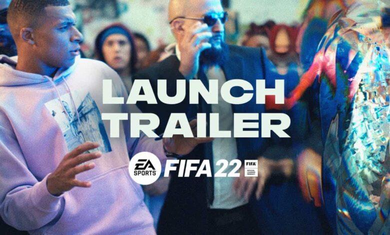 FIFA 22: tráiler de lanzamiento: espectacular vídeo que celebra el primer día