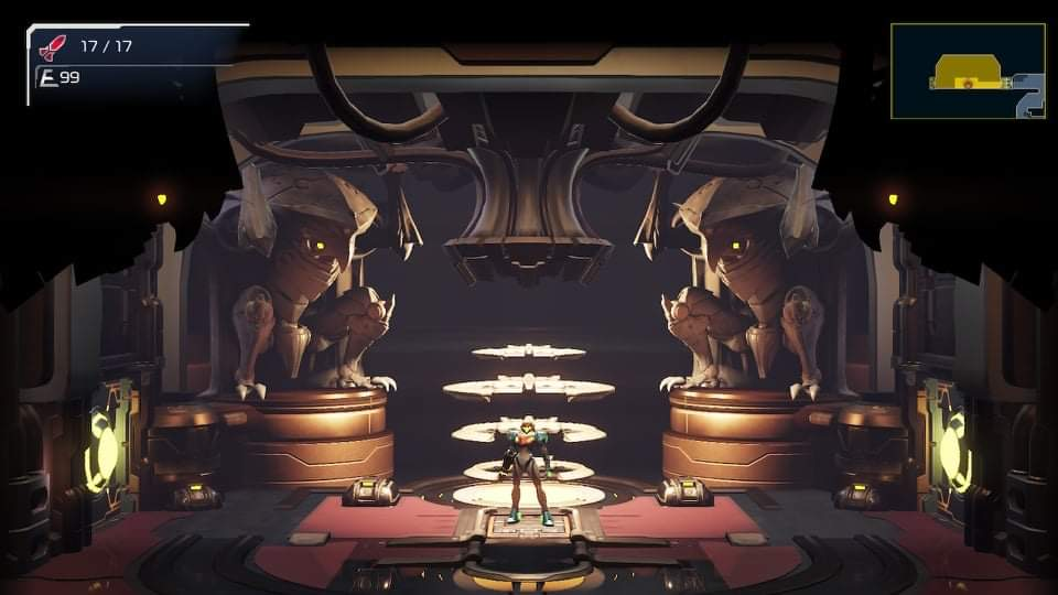 Metroid Dread guardar